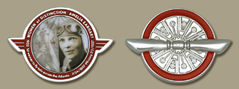 Amelia Earhart Geocoin - Click Image to Close